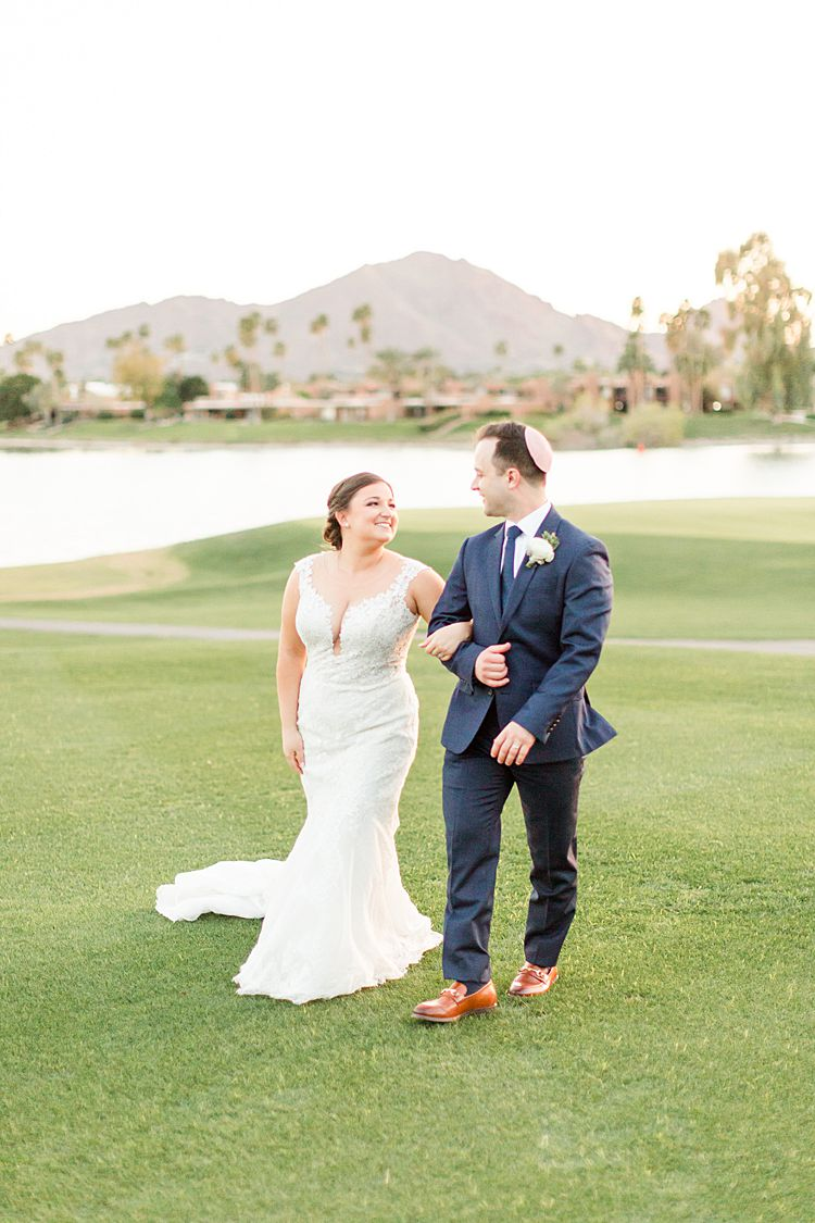 Jessica and Daniel, McCormick Ranch Golf Club, Arizona, USA